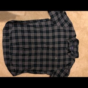 Other - Abercrombie Men's Flannel Button Down Slim Fit XL